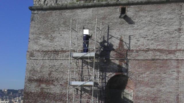 Lavori Castel Dell'Ovo
